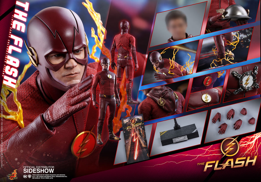 DC Hot Toys The Flash TV 1:6 Scale Action Figure HOTMMS009 Pre-Order