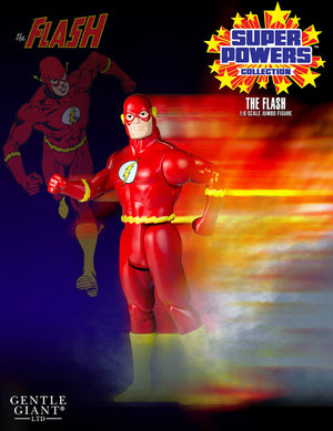 DC Gentle Giant Super Powers Vintage Jumbo The Flash Action Figure