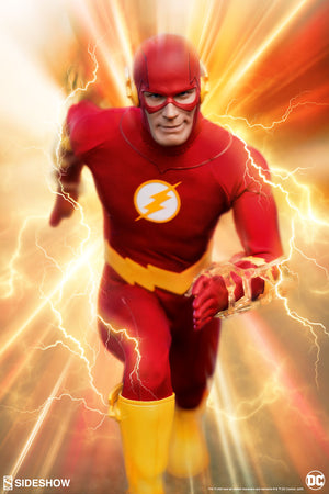 DC Sideshow Collectibles The Flash 1:6 Scale Action Figure
