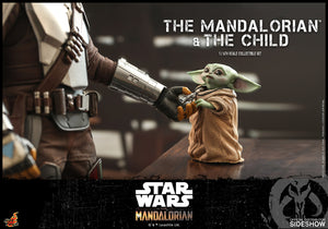 Star Wars Hot Toys The Mandalorian & The Child 1:6 Scale Action Figure TMS014 Pre-Order