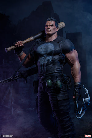 Marvel Sideshow Collectibles Punisher Premium Format 1:4 Scale Statue