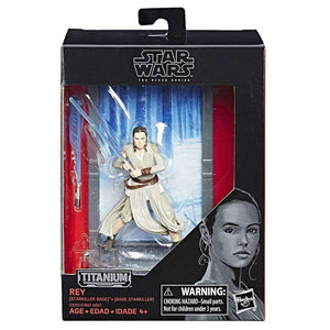 Star Wars Titanium Series 40th Anniversary Wave 2 Rey Action Figure