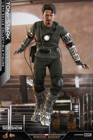 Marvel Hot Toys Iron Man Tony Stark Mech Test 1:6 Scale Action Figure MMS581 Pre-Order