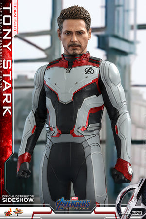 Marvel Hot Toys Avengers Endgame Tony Stark Team Suit 1:6 Scale Action Figure HOTMMS537 Pre-Order