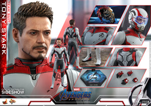 Marvel Hot Toys Avengers Endgame Tony Stark Team Suit 1:6 Scale Action Figure MMS537 Pre-Order