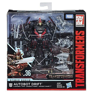 Transformers Studio Series Deluxe Drift w/ Baby Dinobots Action Figure