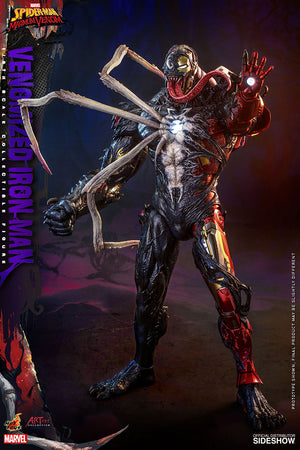 Marvel Hot Toys Maximum Venom Venomized Iron Man 1:6 Scale Action Figure AC04 Pre-Order