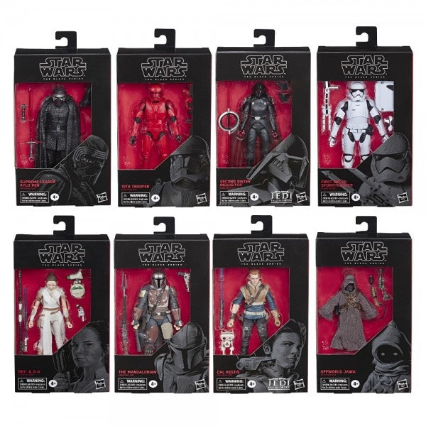Star Wars Black Series Wave 22 Set of Eight Action Figures Pre-Order