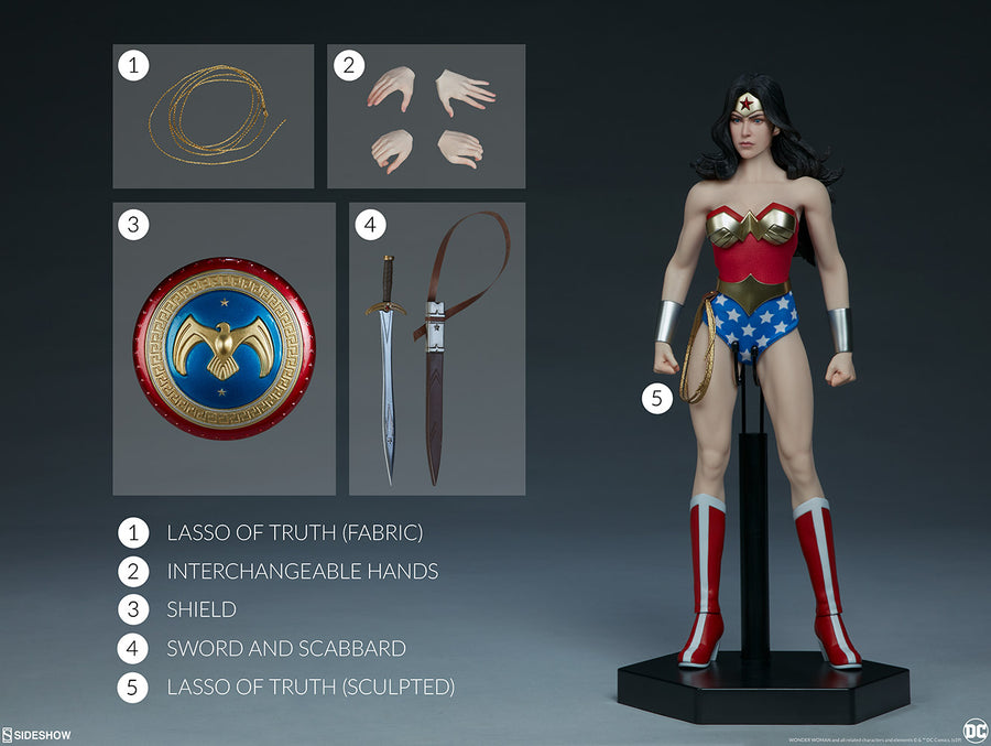 DC Sideshow Collectibles Wonder Woman 1:6 Scale Action Figure Pre-Order