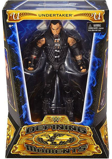 WWE Wrestling Elite Series Defining Moments Undertaker Action Figure