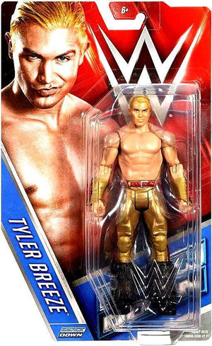 WWE Wrestling Basic Series #66 Tyler Breeze Action Figure