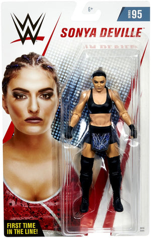 WWE Wrestling Basic Series #95 Sonia Deville Black Attire Action Figure