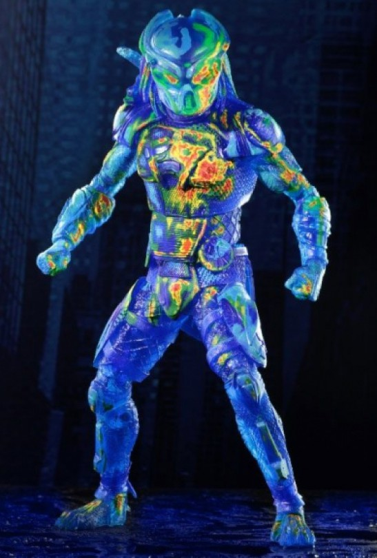 Predator Neca Thermal Vision Fugitive Action Figure Pre-Order