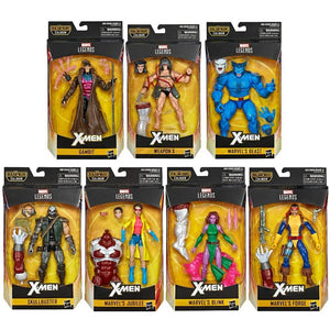 Marvel Legends X-Men Series Caliban BAF Set of Seven Action Figures