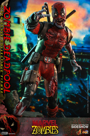 Marvel Hot Toys Zombies Deadpool 1:6 Scale Action Figure CMS06 Pre-Order