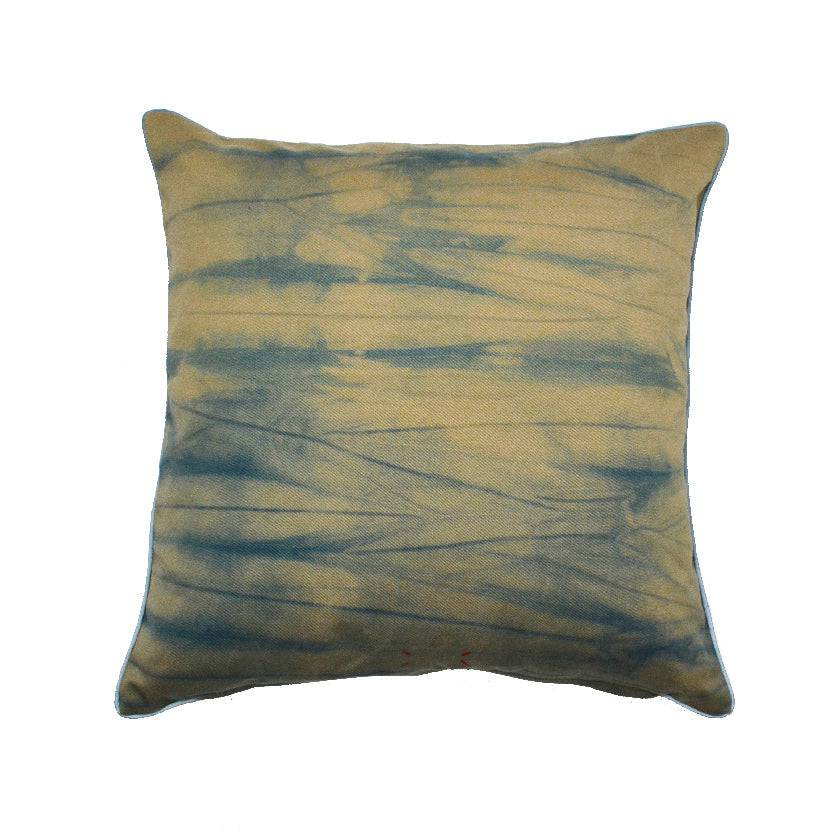 FREQUENCY 16X16 IKAT PILLOW COVER