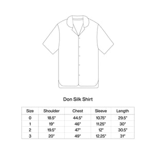 Load image into Gallery viewer, DUNE DON SILK SHIRT