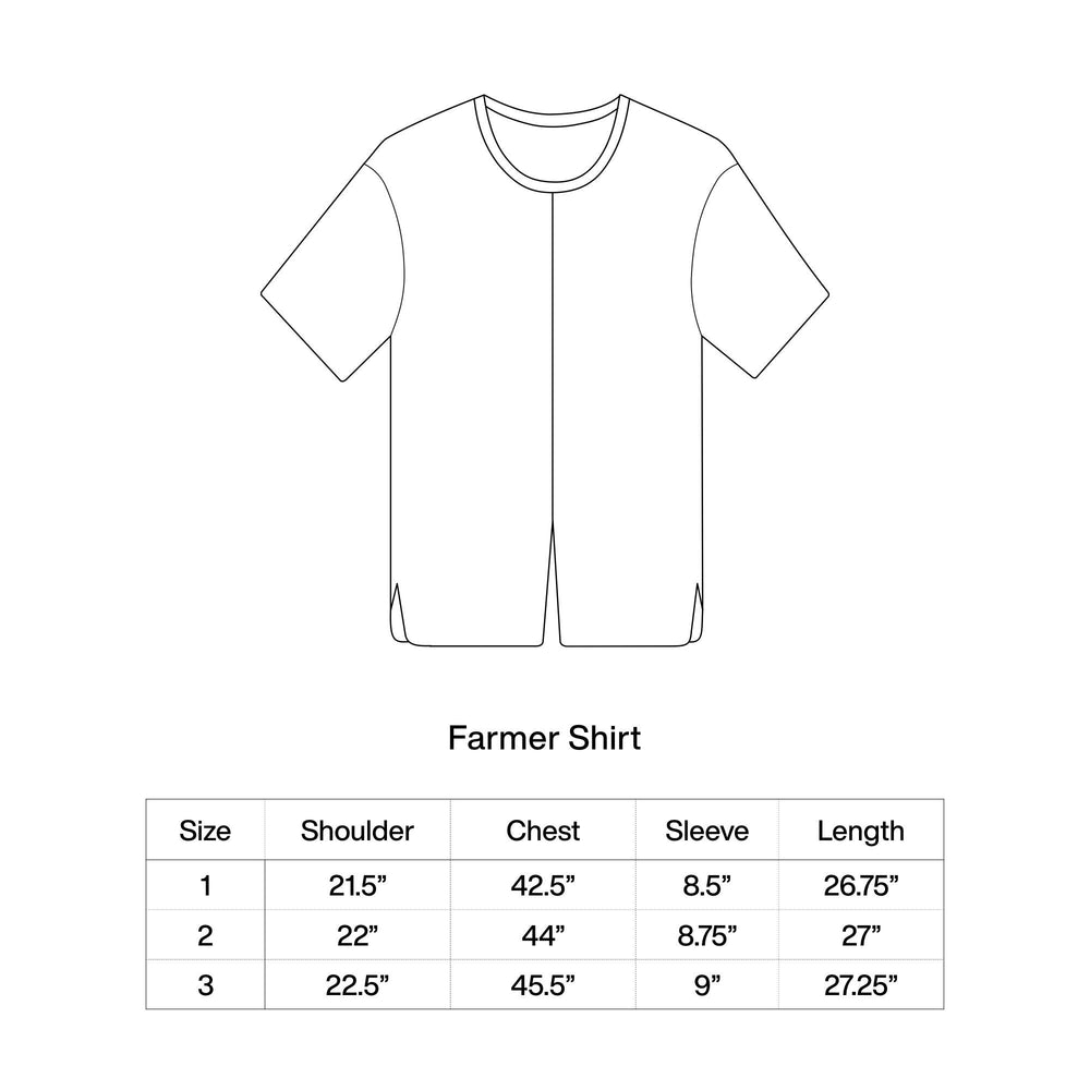 Pre-order: FARMER SHORT-SLEEVED SHIRT