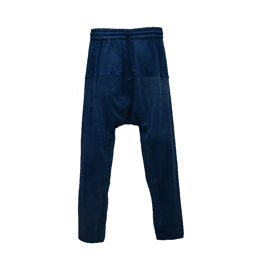 Load image into Gallery viewer, DARK INDIGO IVAN DRAWSTRING TROUSERS
