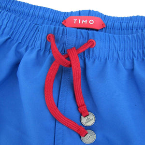 PHILIP HUANG FOR TIMO: Cobalt Blue Prep Trunks