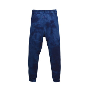 CAMOUFLAGE INDIGO ORGANIC FRENCH TERRY SWEATPANTS