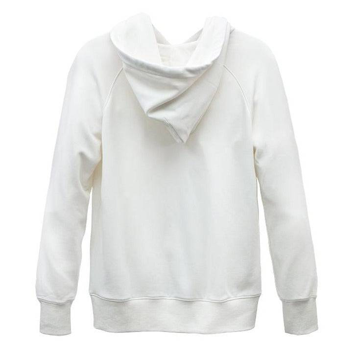 Load image into Gallery viewer, WHITE BAMBOO FLEECE HOODIE