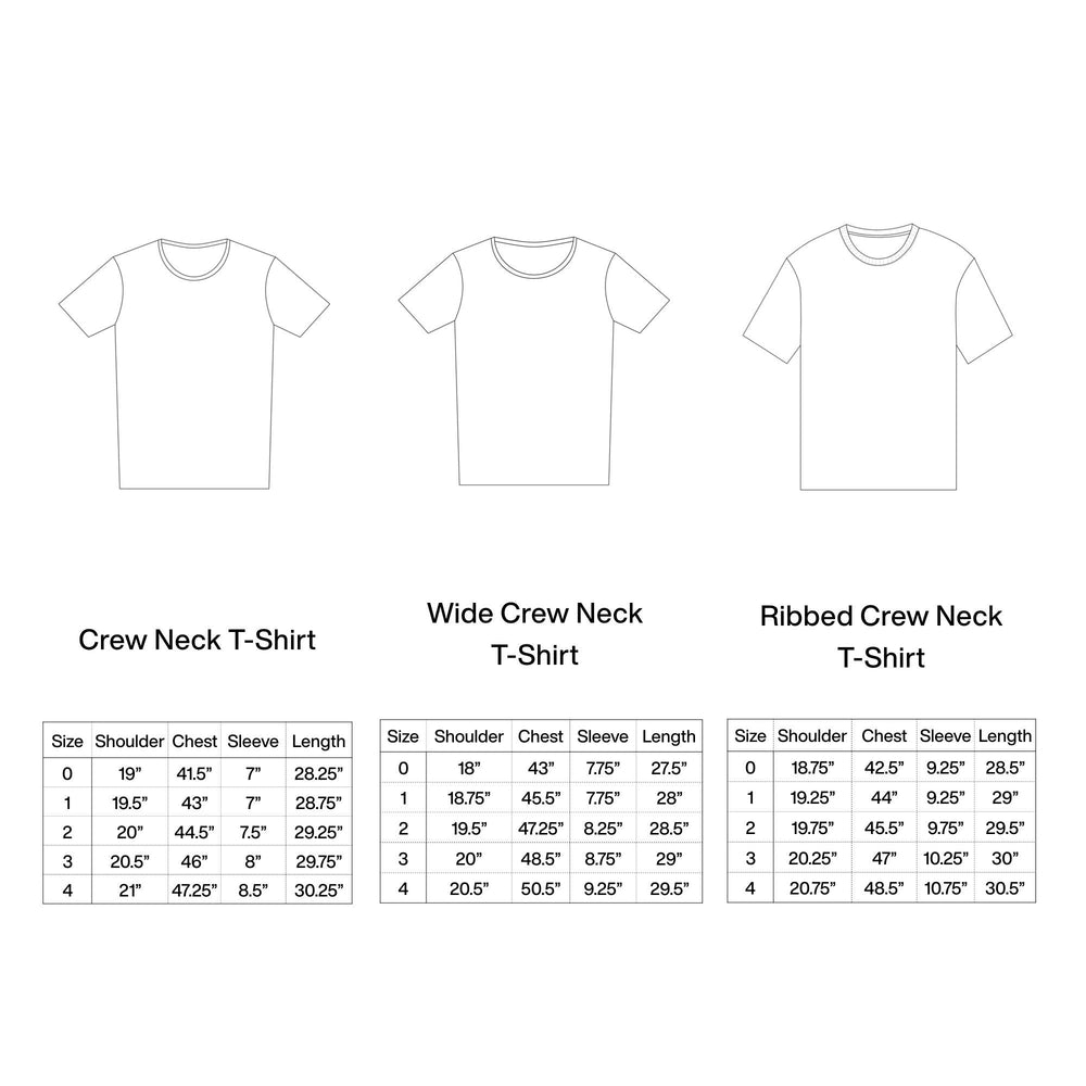 Load image into Gallery viewer, DUNE WIDE CREW NECK T-SHIRT