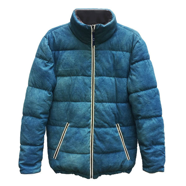 THAI SILK PUFFER JACKET