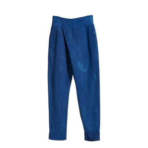DARK INDIGO BAMBOO FLEECE SWEATPANTS