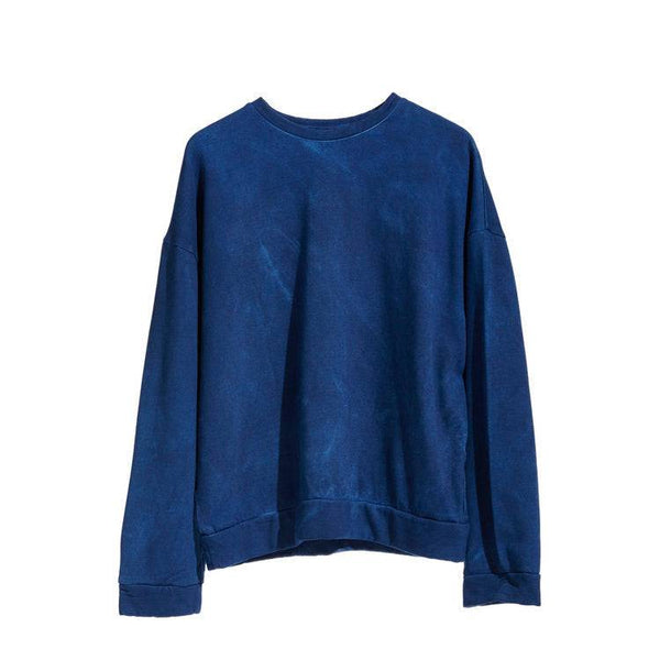 DARK INDIGO BAMBOO FLEECE SWEATSHIRT