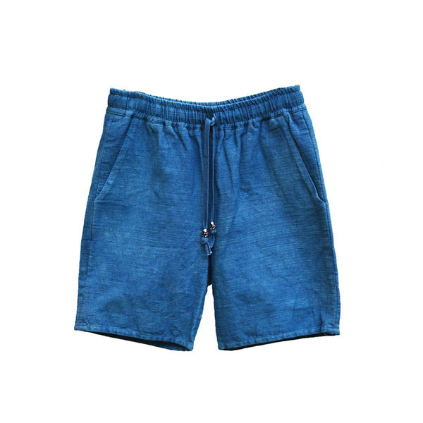 LIGHT INDIGO ISAN WOVEN SHORT