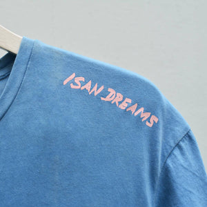 LIGHT INDIGO ISAN DREAMS CREW NECK T-SHIRT