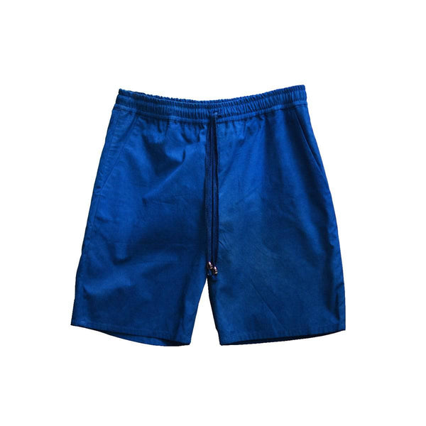 MEDIUM INDIGO BERMUDA SHORTS