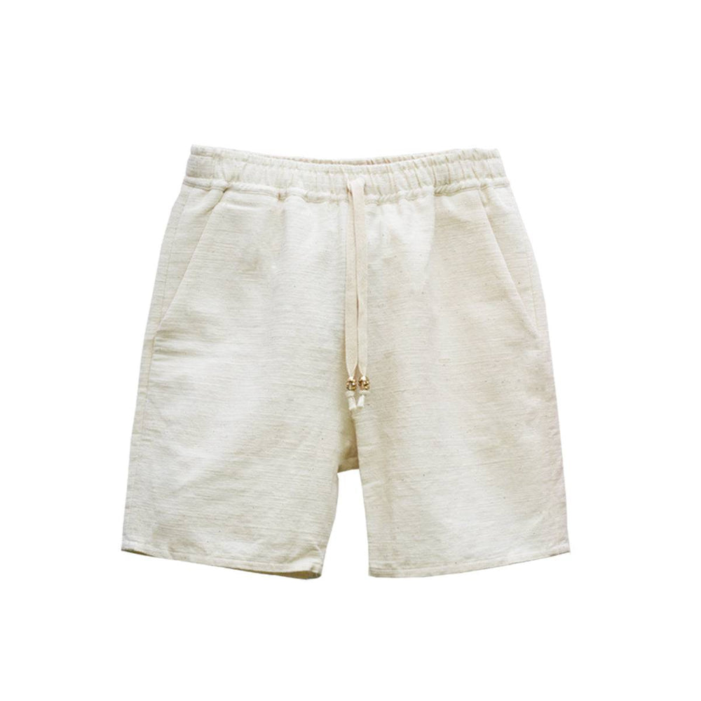 RAW WHITE ISAN WOVEN SHORT