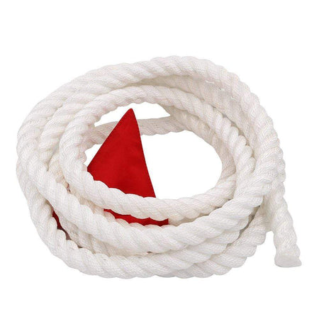 Aixben Tug of War Rope 15 Feet Tug of War Rope with Flag for Kids, Teens and Adults