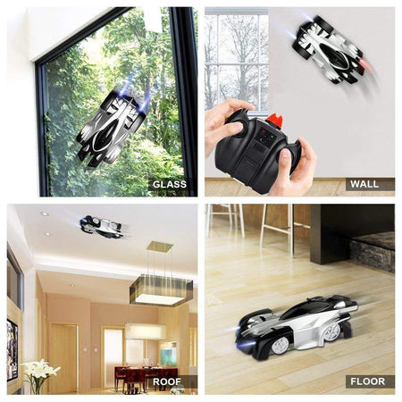 Aixben Rc Car Remote Control Wall Climbing Rechargeable