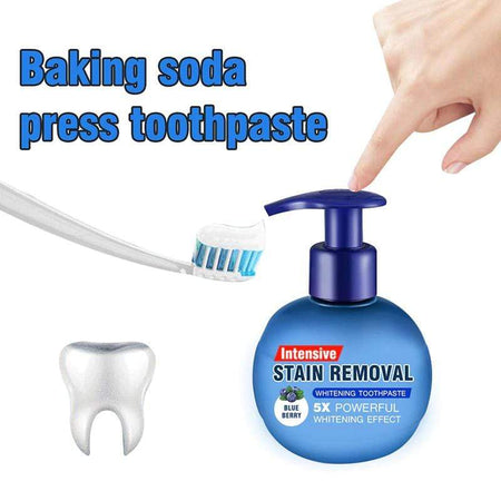 Hot sale Intensive Stain Remover Whitening Toothpaste Aixben