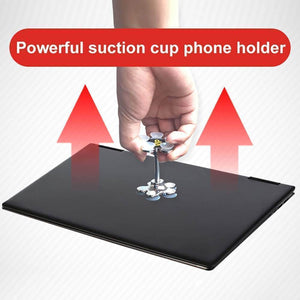 Magic Sucker Cell Phone Holder  360 Degree Rotatable Aixben