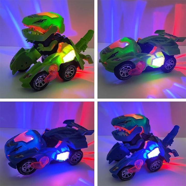 Transforming Dinosaur LED Car Aixben