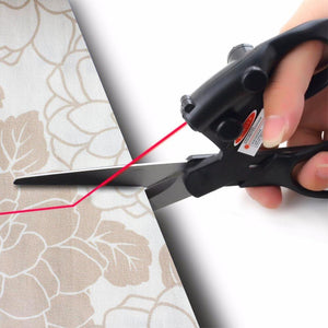 X XBEN 2019 Hot Sewing Laser Guided Scissors Precision Cutting Shears