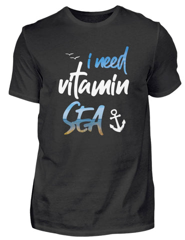i need vitamin sea  - T-Shirt für Herren