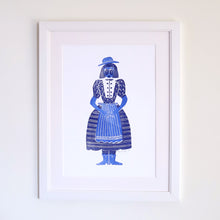 Load image into Gallery viewer, Frauline Letterpress Art Print