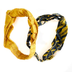 Headband 2-Pack: Tulips/Goldie
