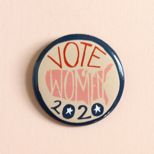 Votes for Women Button: USA