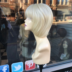 Alopecia hairloss Wig Blonde Bob 2019