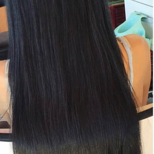 Human hair Clipin 18 inch Hair Extension 9pcs