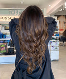 Clipin Human Hair Extensions 18 inch