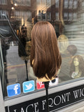 Wig fullcap copper brown 14 inch Long