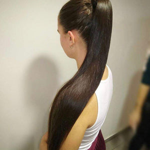 Ariana Ponytail Brown