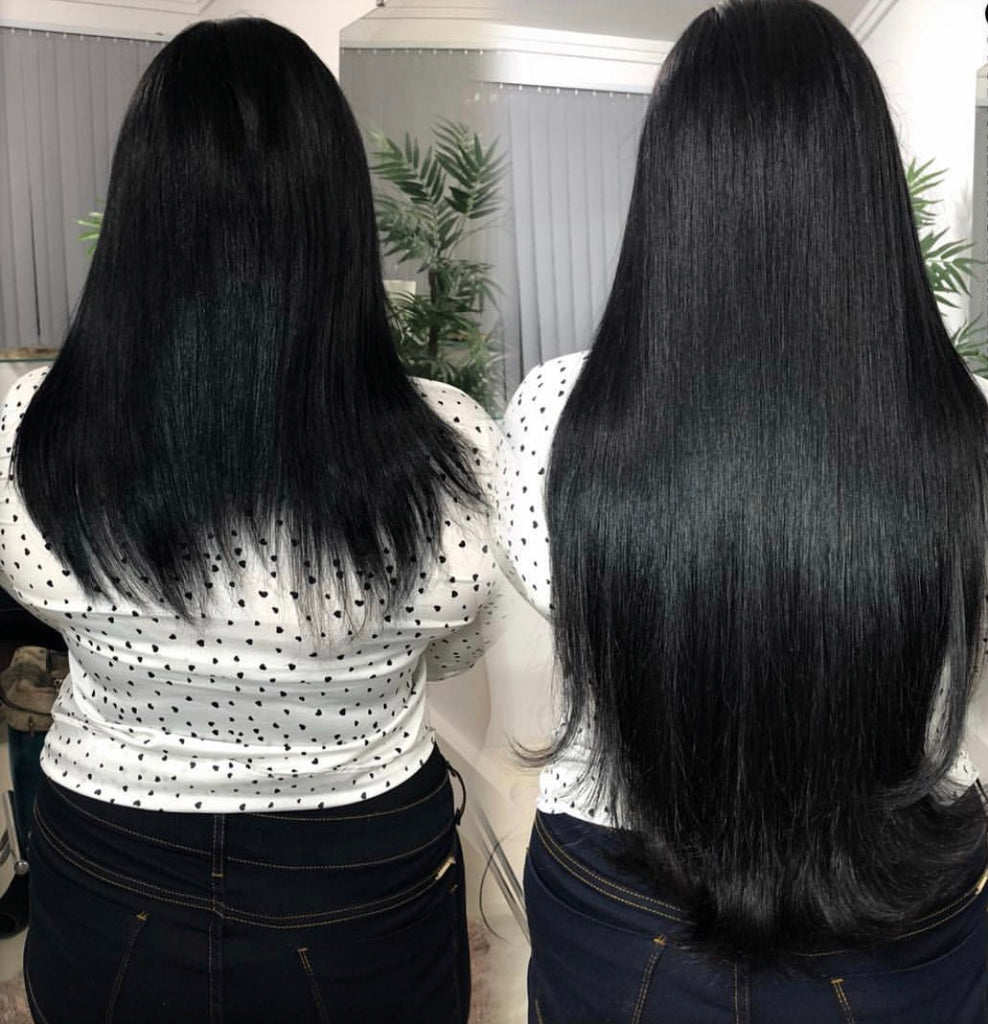 Hair extensions Off Black 22""